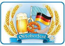 Schatzmix Oktoberfest Blechschild, funschild,