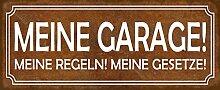 Schatzmix Spruch Garage Regeln Gesetze Auto