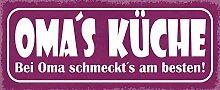 Schatzmix Spruch Oma's KÜCHE-Bei Oma