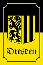 Schatzmix Stadtwappen Dresden blechschild,