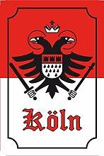 Schatzmix Stadtwappen Köln blechschild,