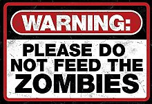 Schatzmix Warning: Please do not Feed The Zombies