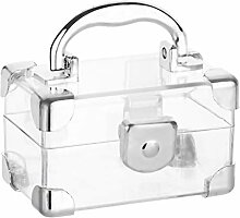 Schatztruhen-Box, Acryl, Bonbonniere, 8 Stück, 7