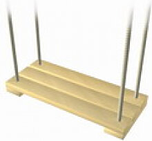Schaukel Brettschaukel Spielgerät Holz
