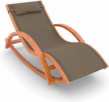 Schaukel- und Liegestuhl Rio, 170x70 cm, mit