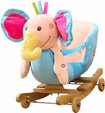 Schaukelpferd HUYP Kinder Spielzeug Holz Indoor
