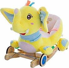 Schaukelpferd LINGZHIGAN Kinder Baby Spielzeug