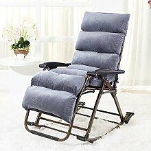 Schaukelsessel Liegen Stuhl Falten Mittagessen Break faul Sofa Balkon Happy Rattan Stuhl Casual älteren Swing Chair Lazy Sofa (eine Vielzahl von Farben optional) ( farbe : # 4 )