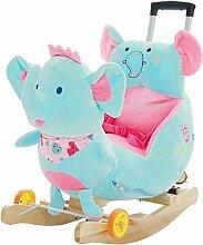 Schaukelspielzeug Elefanten Kinder Holz Pferd