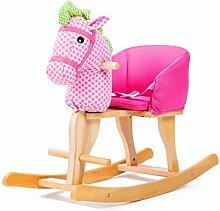 Schaukelspielzeug Kinder Holz Pferd Schaukelpferd