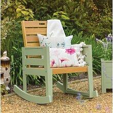 Schaukelstuhl Mcconnell mit Kissen Garten Living