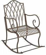 Schaukelstuhl: Romantische Gartenmöbel mit