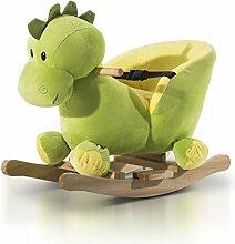 Schaukeltier Schaukelpferd Kinder Schaukel Drache Spielzeug mit Musik (Schaukeldrache)