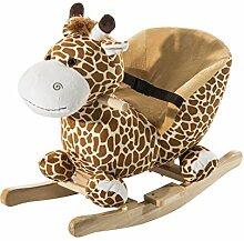 Schaukeltier Schaukelpferd Kinder Schaukel Giraffe Spielzeug mit Musik (Schaukelgiraffe)