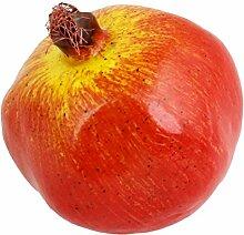 Schaum Simulation Granatapfel Früchte Tabelle Ornament Dekoration Ro