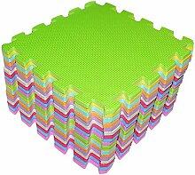 Schaumstoff Puzzlematte- 18-teilig Spielmatte 26 x