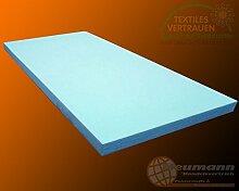 Schaumstoff Schaumstoffplatte Polster Matratze PUR RG35 Platte (200cm x 120cm x 5cm)