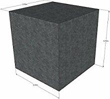 Schaumstoffwürfel 50x50x50cm in anthrazit Bandscheibenwürfel, Sitzwürfel,Bauklötze