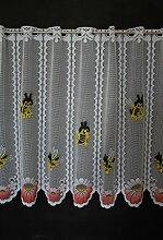 Scheibengardine für Kinder Biene 60 cm hoch |