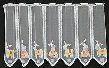 Scheibengardine für Kinder Esel 60 cm hoch |