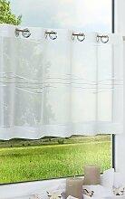 Scheibengardine  von LYSEL® - Hydro  (Bx H) 136cm