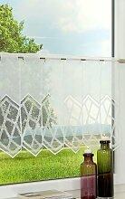 Scheibengardine  von LYSEL® - Kristalle  (Bx H)