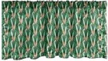 Scheibengardine Vorhang Volant für Küche