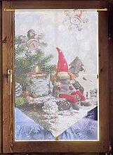Scheibenhänger WICHTEL Weihnachtsgardine