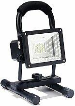 Scheinwerfer 24 LED 1600 Lumen Wiederaufladbar