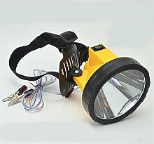 Scheinwerfer Taschenlampe Fackel 12V Externer Akku