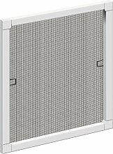 Schellenberg 50730 Insektenschutz-Fenster STANDARD, weiß, 80 x 100 cm