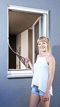 Schellenberg 50746 Insektenschutz Fenster Magnetic Fliegengitter mit Magnetrahmen