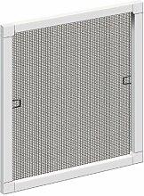 Schellenberg 50782 Insektenschutz-Fenster PLUS, weiß, 80 x 100 cm