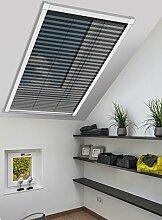 Schellenberg 70991 Insektenschutz-Plissee für Dachfenster – 114 x 160 cm in Weiß
