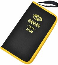Schere Zangen Schwarz Gelb Nylon Werkzeuge Halter Pocket Organizer