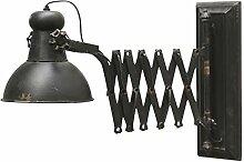 Scherenarm Wandlampe Industrie-Design shabby