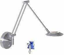 Scherenlampe Scharnier Wandleuchte Stahl