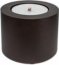 Scheulen Metall Zylinder Rustic - Antik, Braun, 26