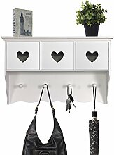 Schicke Wandgarderobe Garderobenpaneel