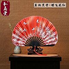 Schicken sie 1 3 fächer japanische fans und fan - Hall japanische Frauen - SeIden - Fan - geschenk - fan und Wind macheten