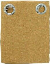 Schiebegardine Möbel CANAPONE mit Nieten Art. Easy–Uni N271 gold