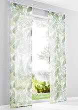 Schiebegardine Palme (1er-Pack), grün (H/B: 175/57 cm)