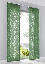 Schiebegardine Roya (1er-Pack), grün (H/B: 145/57