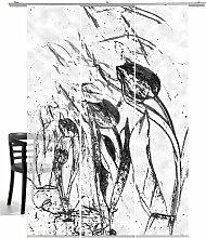Schiebegardine, Tulpen im Wind, emotion textiles,