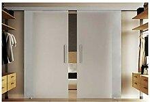 Schiebetür aus Glas mit zwei Scheiben 155x205 cm