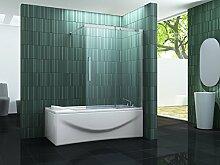 Schiebetür-Duschtrennwand BATCH 120 x 150