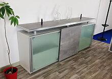 Schiebetüren-Büro Sideboard Expendo Line 240 x