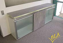 Schiebetüren-Büro Sideboard Expendo Line Glas