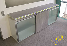 Schiebetüren-Sideboard Expendo Line 240 x 96 x 50