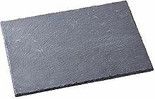 Schieferplatte Schiefer grau 30x20cmx6 mm,
